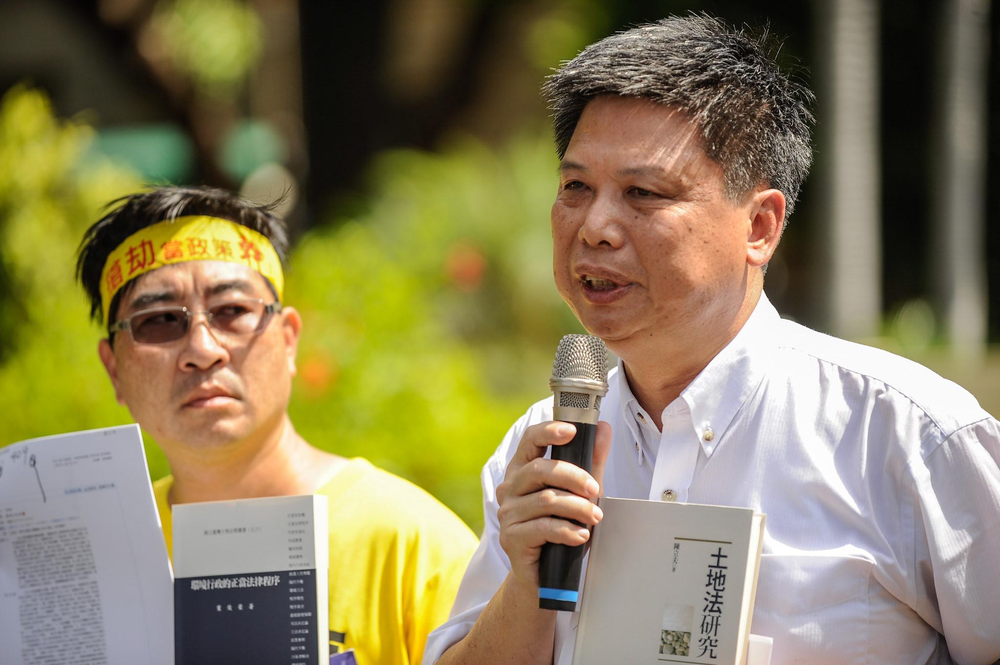 反南鐵東移,政大教授徐世榮
